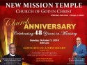 New Mission 48th Church Anniversary